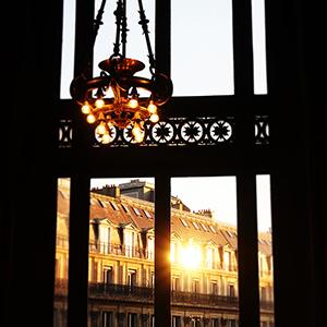 Fenêtre du soir