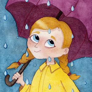 Bonheur sous la pluie