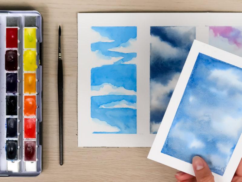 Comment peindre le ciel ?