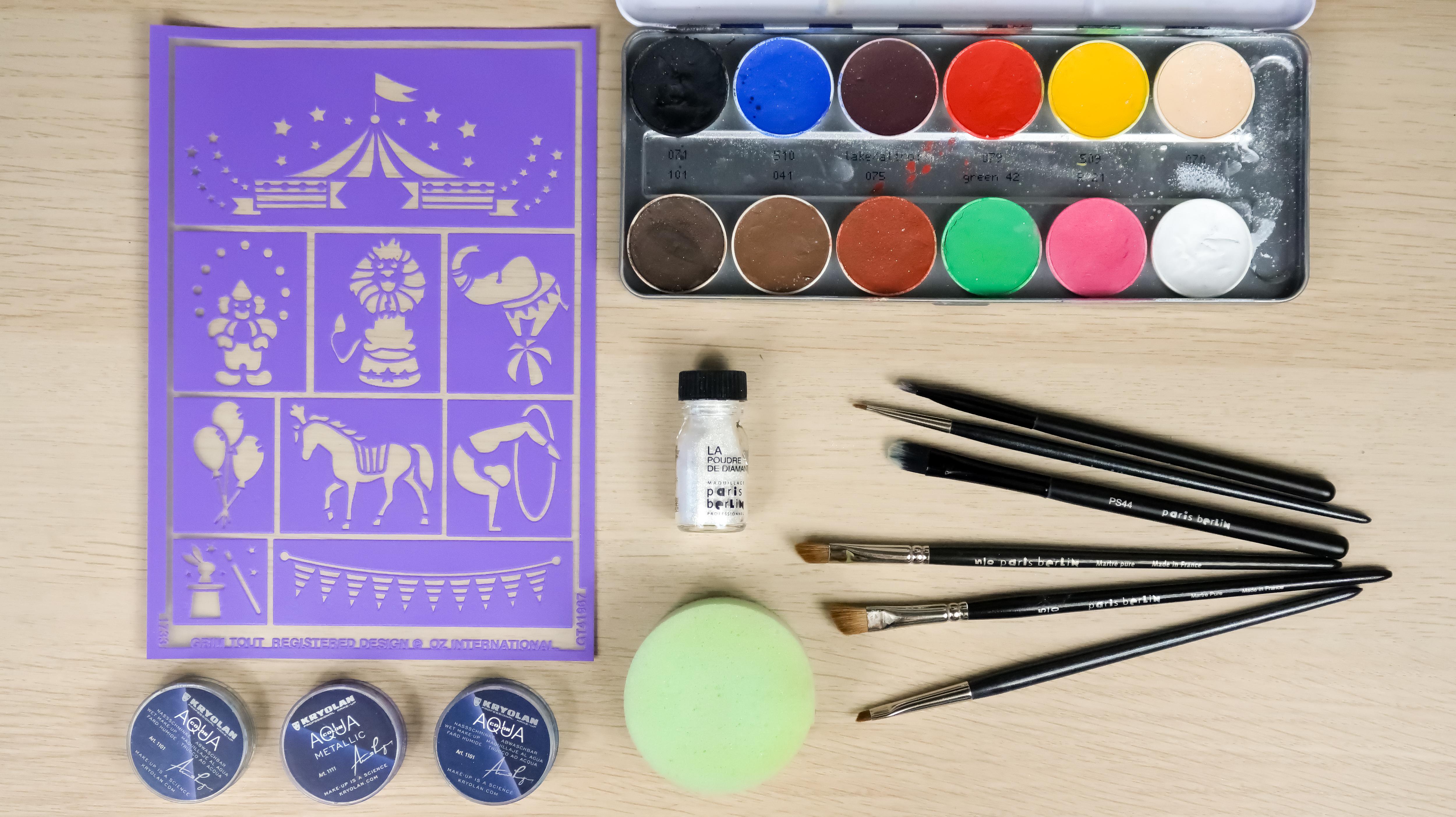 Maquillage créatif première expérience !