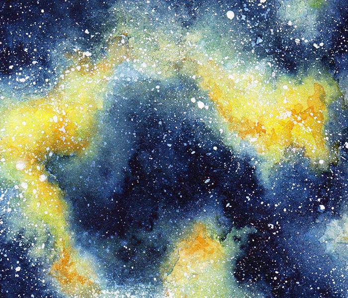 Galaxie jaune