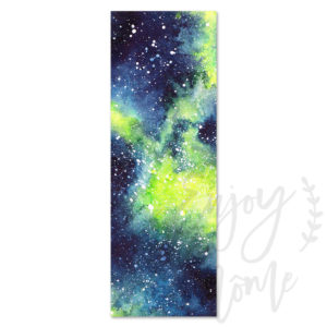 marque-page-galaxie-verte