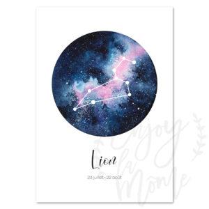 carte-postale-astro-lion