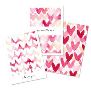lot-3-cartes-postales-cœurs