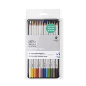 crayons-de-couleurs-aquarellables-winsor-newton-x12